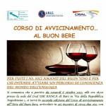 Corso di Avvicinamento al Buon Bere organizzato da ANAS in Puglia