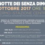 """ANAS Solidarietà – Domani sera alla Stazione Centrale di Palermo""""la notte dei senza dimora"""