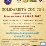 """Anas Veneto organizza la 4° edizione di """"Solidarietà con TE"""" a Vigasio"""