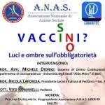 Acquaviva delle Fonti (BA): Vaccinarsi (SI/NO) organizzato dall'ANAS per verificare lo stato dell'ARTE