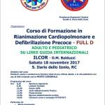 Calabria: l' Anas organizza un corso di formazione in rianimazione cardiopolmonare e defibrillazione precoce – Full D su raccomandazioni ILCOR