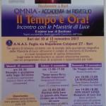 """Bari: al via le tre giorni de """"Il tempo è Ora!"""", incontro con le Maestrie di Luce. Il nuovo tour di Darshana alla sede ANAS Puglia"""