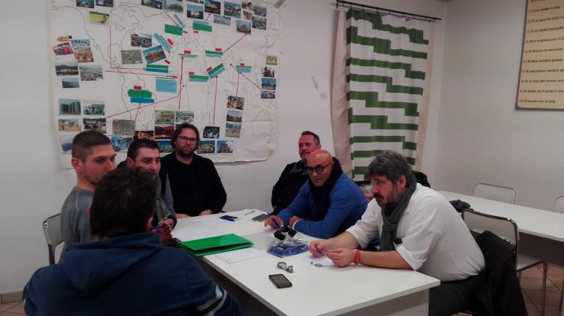 Presidenti ANAS delle sedi veronesi riuniti a Villafranca per fornire un quadro generale sulle attività svolte