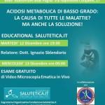 """ANAS PUGLIA Martedì 12 Dicembre ORE 19.30 organizza un incontro su """"educational"""""""