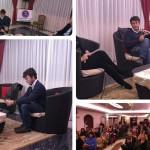 Diego Fusaro è stato ospite dell'associazione nazionale di azione sociale in Calabria per parlare di cultura