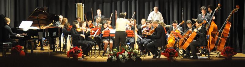 """Presentata a cura di ANAS Carugate e PRO Loco, l'Orchestra """"La Nota in più"""" composta da ragazzi Autistici e Down"""