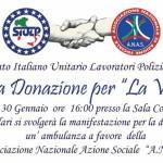 Donata all'Associazione Anas zonale Cosenza un' ambulanza dal corpo di polizia di Cosenza