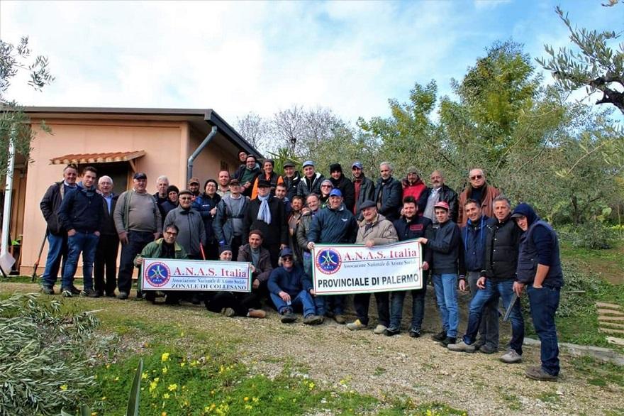 A.N.A.S.Palermo tra gli ulivi alla riscoperta delle tradizioni