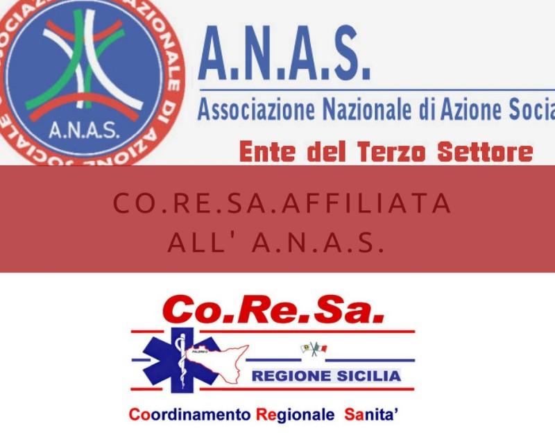 Avviata collaborazione tra ANAS e CoReSa su assistenza socio-sanitaria