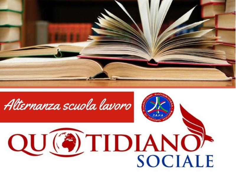 Alternanza scuola-lavoro Liceo E. Fermi di Bari con ANAS e Quotidiano Sociale: gli alunni si approcciano al mondo del giornalismo