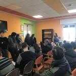 """Alternanza scuola-lavoro Liceo """"E. Fermi"""" di Bari. Gli alunni intervistano gli ospiti del centro diurno """"Karol Wojtyla"""""""