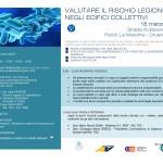 """Anas forma Piemonte, ente di formazione Regionale, organizza seminario su """"Valutare il rischio Legionella negli edifici collettivi"""""""