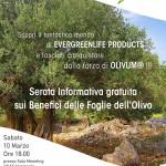 Presso la sede ANAS Sicilia la prossima tappa della serata informativa sui benefici delle foglie dell'Olivo