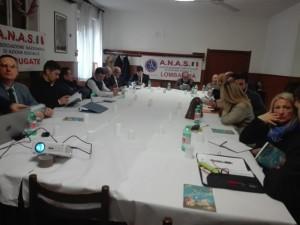 riunione ANAS Lombardia a Carugate