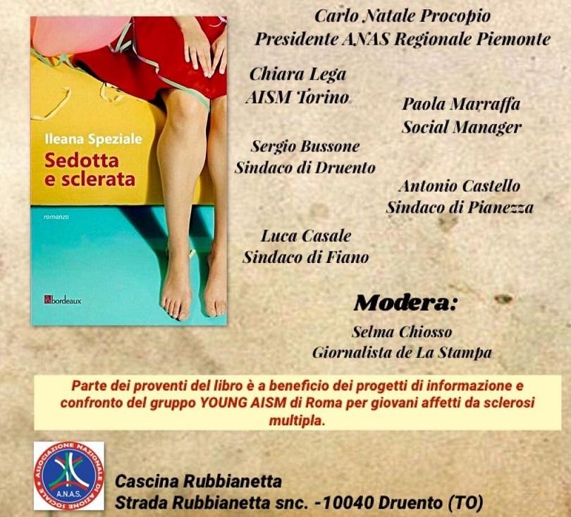 Segni indelebili: sedotta e sclerata di Ilenia Speziale presentata da ANAS PIEMONTE:
