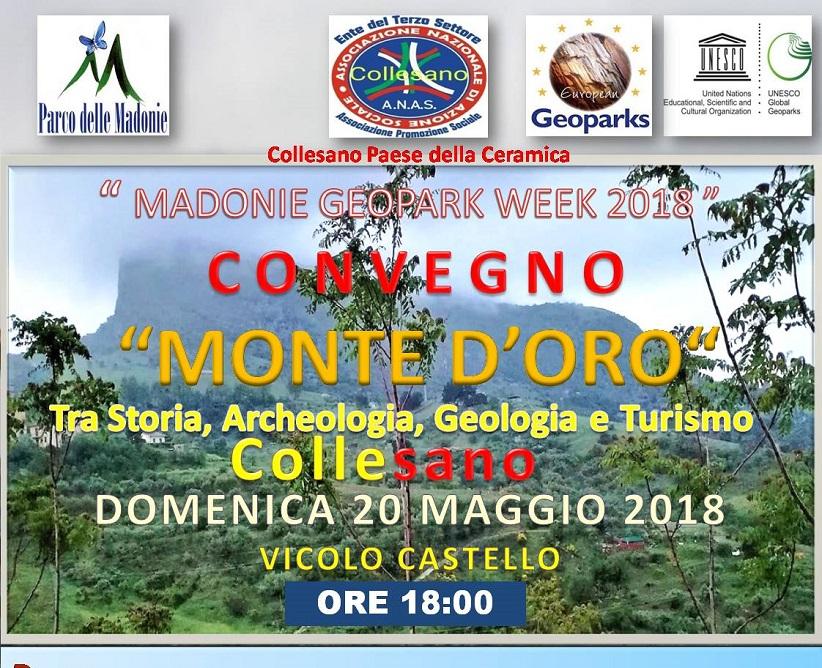 """Alla scoperta dell'insediamento medioevale """"Monte d'oro"""" di Collesano, tra storia, archeologia, geologia e turismo."""