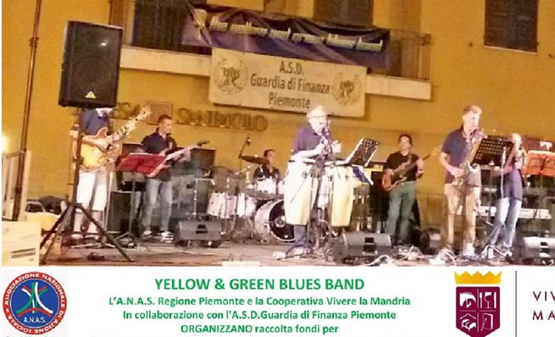 ANAS Piemonte concerto di beneficenza con l'ASD Guardia di Finanza