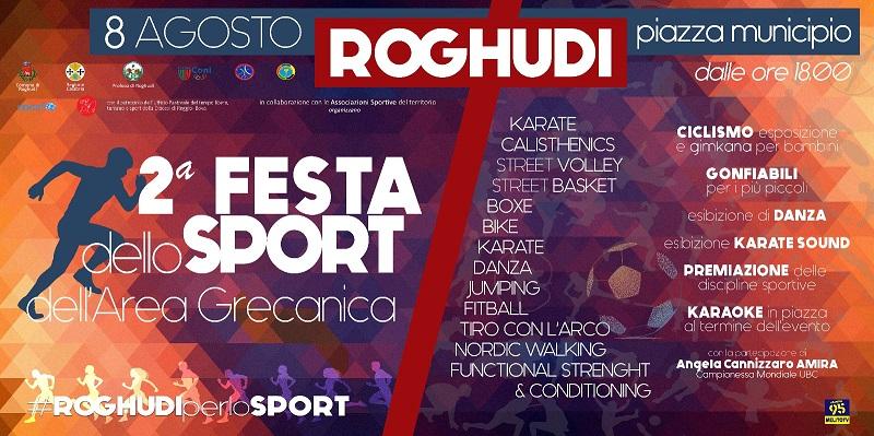 Roghudi ANAS in rete per l'evento della seconda edizione dello sport