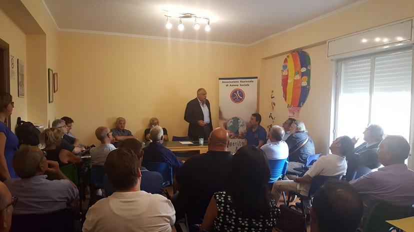 Mercoledì 8 agosto,in via Hazon n. 4,  continua l'attività di formazione ANAS Sicilia