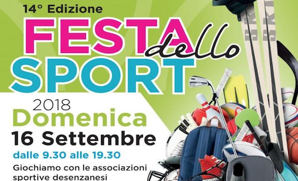 Festa dello Sport 2018 a Desenzano del Garda