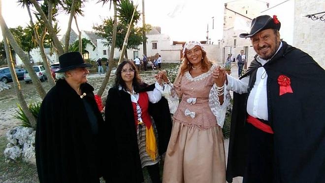 """""""Le Vie dei Briganti"""". L'evento è stato organizzato dall'Associazione culturale Incontri, con la collaborazione ANAS Puglia"""