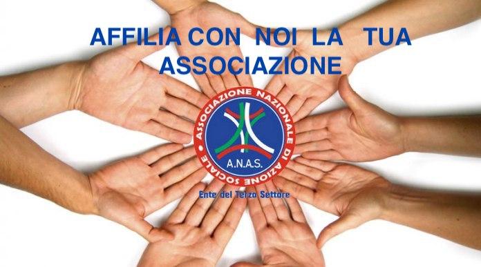 Affilia la tua Associazione con A.N.A.S.