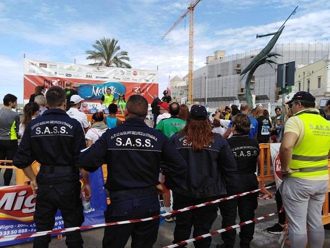 Anche la SASS, affilaita ANAS, ha partecipato alla Colonna mobile blu in occasione del sisma di Pizzoli