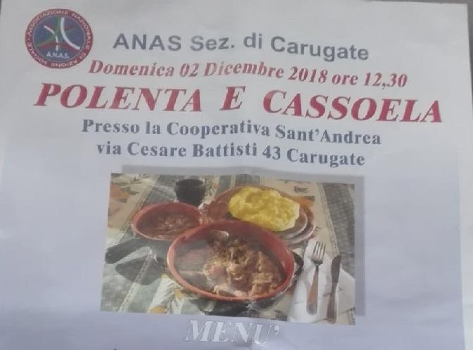 ANAS polenta e cassoela a Carugate per non perdere le tradizioni 6° edizione