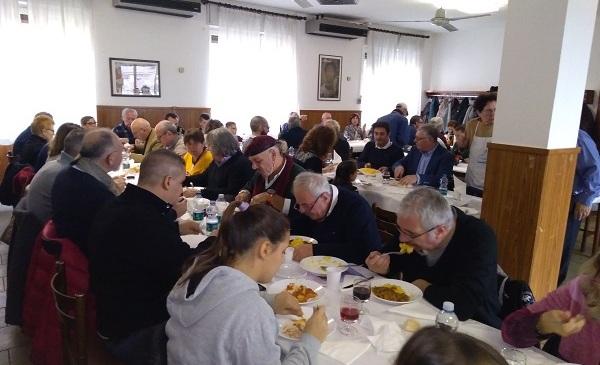 ANAS Carugate tra tradizione e cultura ha organizzato il pranzo di natale 2018