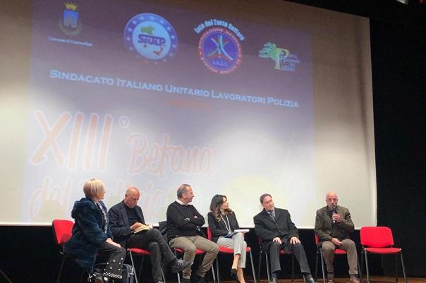 Tra cultura e solidarietà e prevenzione a Castrovillari con Pippo Franco SIULP e ANAS