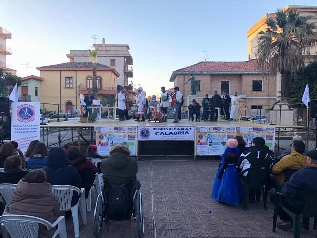 Con ANAS Calabria ad ARDORE per il primo carnevale