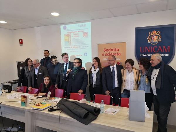 Giornata mondiale delle Malattie rare presentato il libro sedotta e sclerata con ANAS Macerata