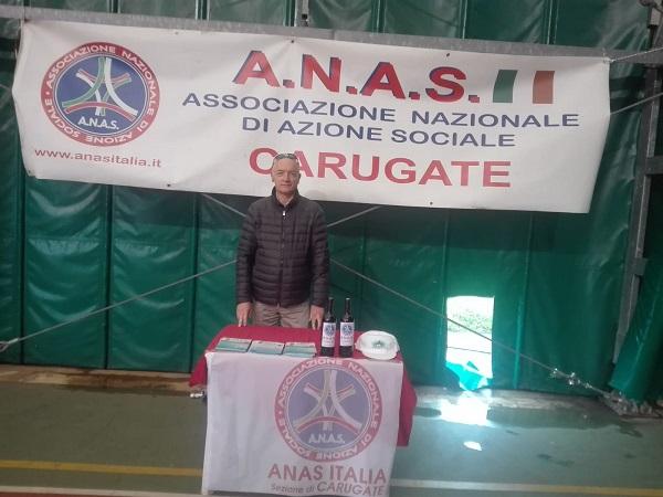 Carugate l'ANAS alla festa delle associazioni per un confronto su attività e servizi