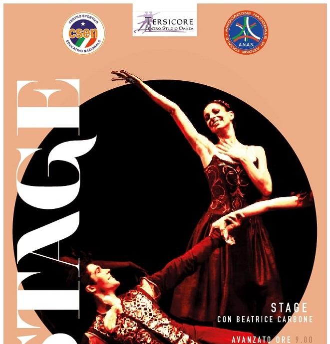 Stage di danza con Beatrice Carbone a Madica (RG) con l'ASD Tersicore tra cultura e arte