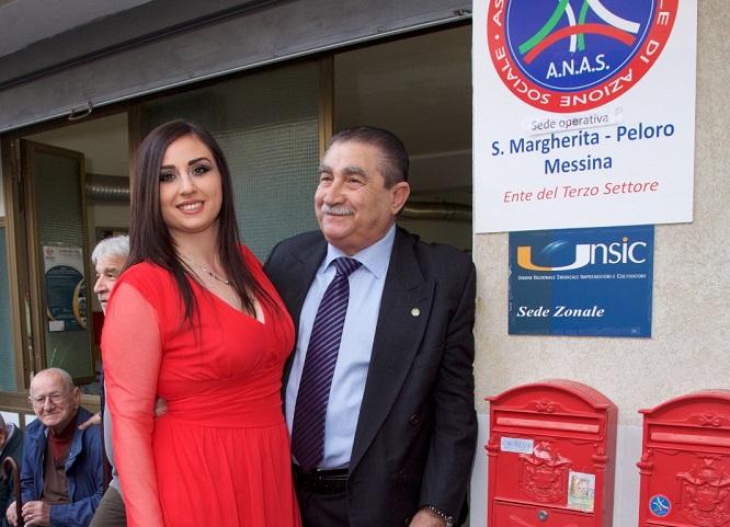 Zonale ANAS Santa Margherita Peloro inaugurata la sede Caf e Patronato