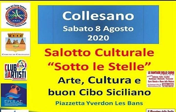 Salotto culturale sotto le stelle con ANAS Collesano sabato 8 agosto