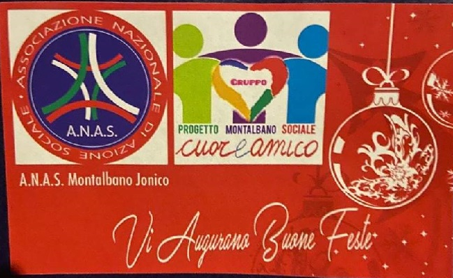 In Basilicata la RETE ANAS in queste feste e per tutto l'anno è stata e sarà vicina ad oltre mille famiglie