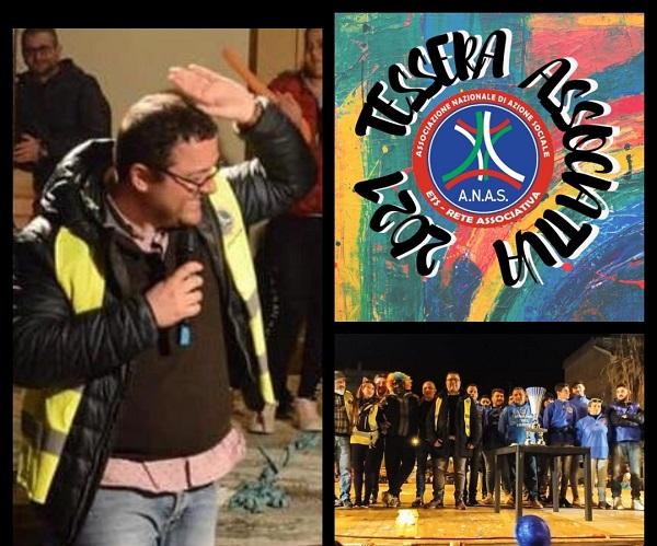 Al Via la campagna di Affiliazione e tesseramento della RETE ANAS Calabria delle ODV APS CRAS imprese e cooperative sociali e